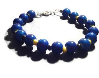 Barbados, Barbadian Jewelry, Bajan Jewelry, Baji Jewelry, Tropical Jewelry, Caribbean, Caribbean Jewelry, Beaded Bracelet, Bracelets