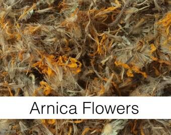 Arnica Flowers (Arnica montana) - Organic