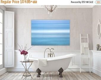 Aqua ~ East Matunuck, Abstract, Canvas, Wall Art, Photography, Interior Decor, Coastal Decor, Joules, Artwork, Blue, Aqua, Wave