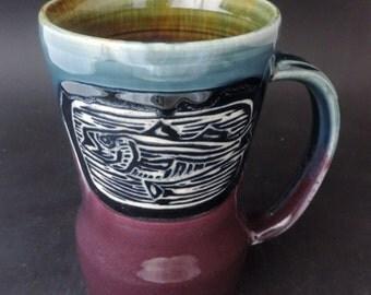 Fish Mug, 20 ounce