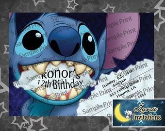 Stitch Invitation