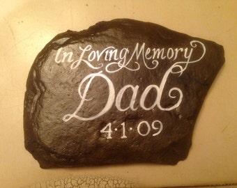 Memorial handpainted rocks