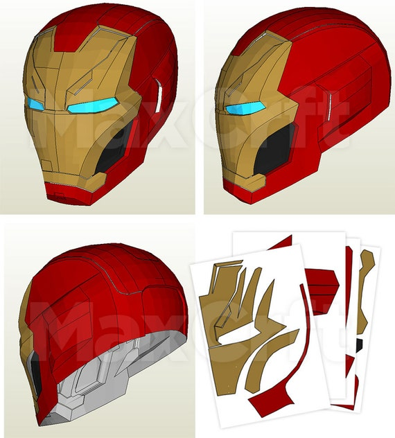 how to draw iron man mark 46