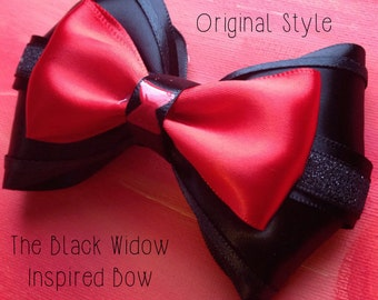 The Black Widow Inspired Bow