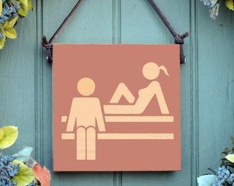 Sauna Sign