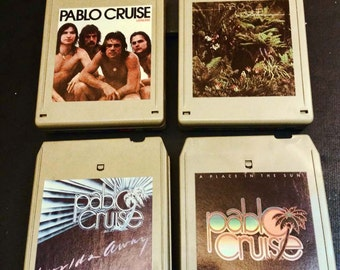 Pablo Cruise 8 Track Tapes - Lot of 4!