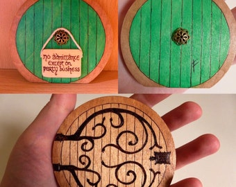 Lord of the Rings Hobbit Door