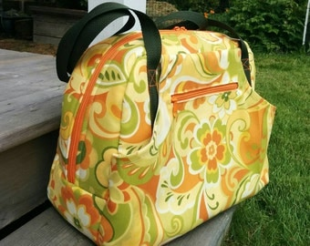 Departure Satchel, Carry On, Overnight Bag, Travel Bag, Pockets, Trolley Sleeve, Travel Luggage
