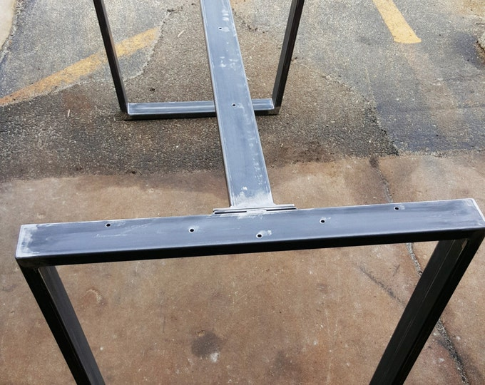 Table Bench Steel Legs Dvametal
