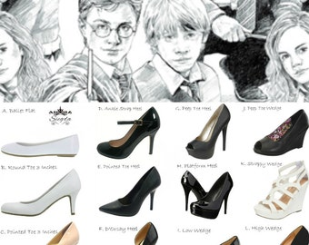 30% OFF- Harry Potter- Sketches of Greatness- Choose Your Style
