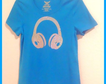 My headphones shirt,