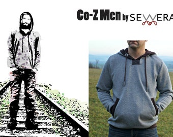 Co-Z Men sewing pattern and instruction by Sewera