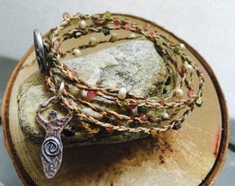 Tourmaline Gemstone neclace/bracelet