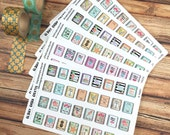 PLAN TIME MINIS - Mini Planner Stickers - littlest, cutest, perfect for scheduling planning time in personal planners! {160001}