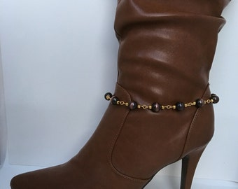 Boot  Bracelet, Boot Jewelry, Fashion Boot Jewelry, Beaded Boot Bracelet