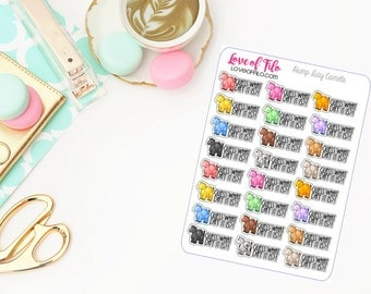Hump Day Camels | Life Planner Stickers