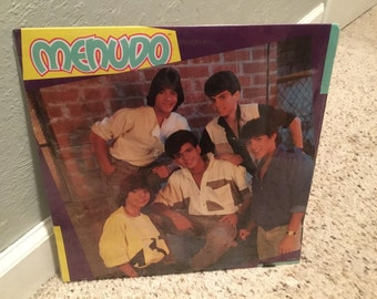 Sealed Menudo 1985 Self Title LP Vinyl Record Ricky Martin