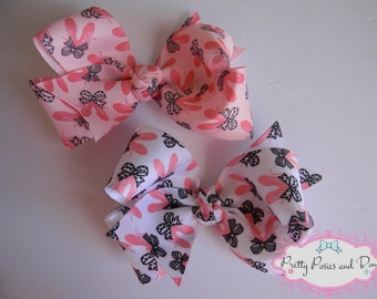 Ballet Hair Bow, Dance Hair Bow, Ballet Slippers, Dancer, Ballerina, Hair Bow, Ballet Hair Bow
