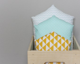 Welcome Home, Sweet Mint Collection cushions