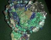 Amazonite and Labradorite bracelet