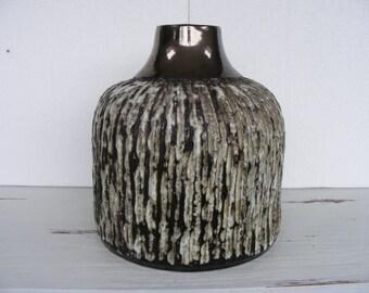 Ceramano Syrakus Fat Lava vase