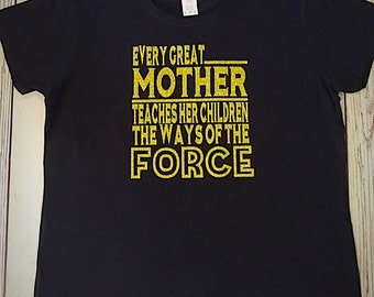 Star Wars themed Mother's T-Shirt
