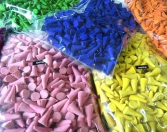 500 Cones Thai Incense Aroma Fragrance Spa Relaxing Mixed Fragrance