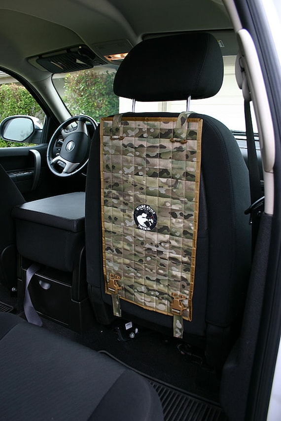 Molle Vehicle Seat Back Panel