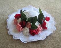 Edwardian Hat; Sun Hat; Downton Abbey Hat; Titanic Costume; Rose Costume; Lady Mary Crawley; Lady Edith; Lady Sybil; Lady Rose; Rose Hat