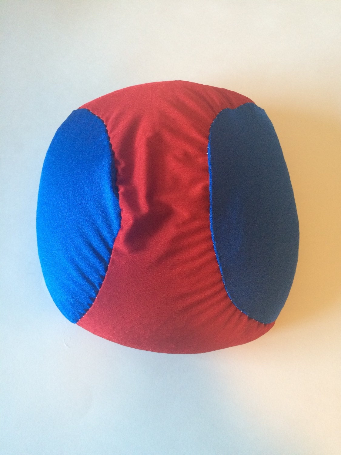 Large Squishy Ball : Weighted Fidget Squishy ball, large, sensory toy - lycra - poly pellets, 3 lbs