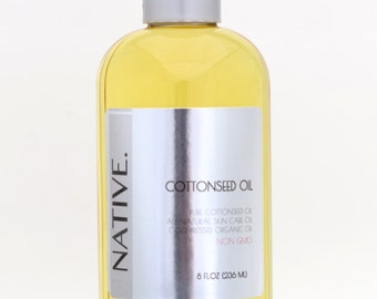 Pure Cottonseed Oil High Quality Organic Cold Pressed Oil All Natural by Native.