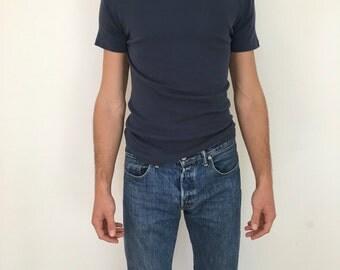 Helmut Lang mens ribbed tshirt