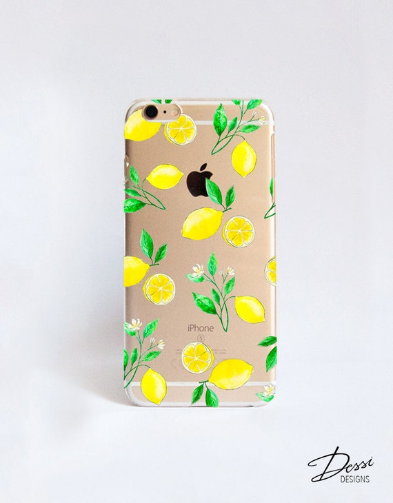 Clear Lemons phone case design for iPhone Cases HTC Cases