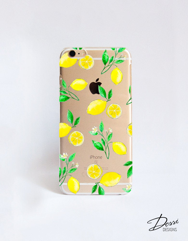 Clear lemons phone case design for iphone cases htc cases for Case design