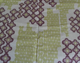 """Retro Upholstery Fabric """"Pacesetter"""" by Laurie Smith Collection- of Trading Spaces TV Show- Soil & Stain Repellent"""