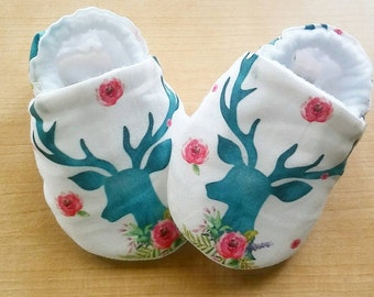 Spring Deer Theme Baby Shoes Size 1-5