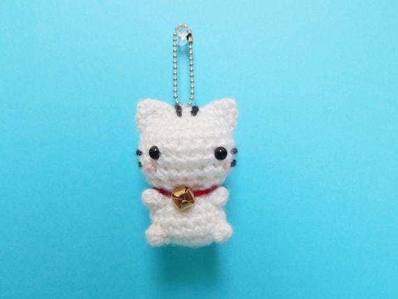 Amigurumi Bunny Keychain : Mini Bunny Amigurumi Keychain Bunny Plush Bunny Keychain