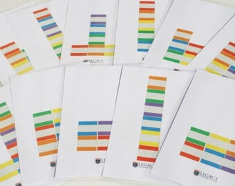 Block Placemats for Kids, Laminated Game Mats, Pattern Activity Mats