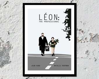 Léon: The Professional high quality film print (A5, A4, A3)