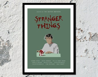 """Stranger Things high quality print 2 of 3 """"ELEVEN"""" (A5, A4, A3)"""