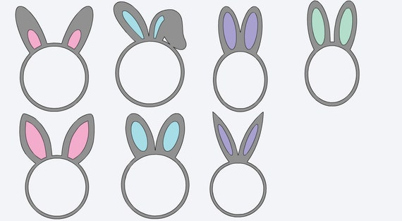 Monogrammed easter vinyl decals personalized stickers yeti like this item negle Images