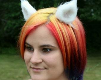 Cutie Kitten Furry Ears (white)