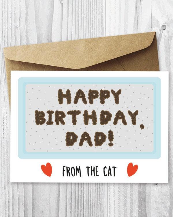 Gross birthday card – Printable Birthday Card for Dad