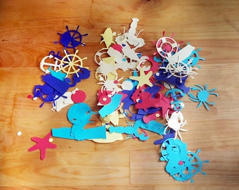 Nautical Shapes Confetti