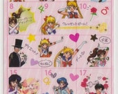 Sailor Moon Schedule Stickers - Reference A3529-30