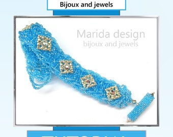 "Tutorial ""Granita"" bracelet (ITA/EN)"