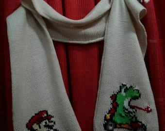 Super Mario kart scarf (fan edition)