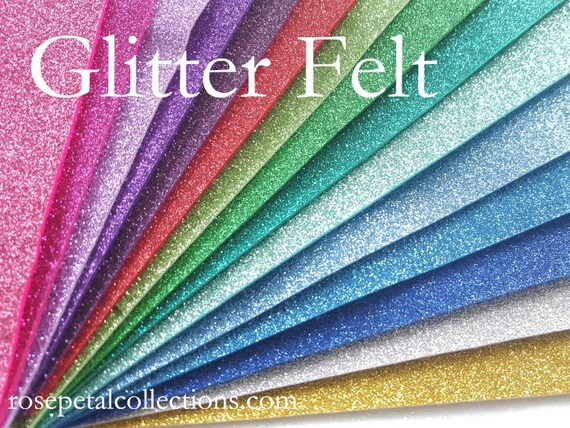glitter wool felt sheets glitter wool felt glitter felt