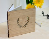 Bamboo Guestbook - Customised