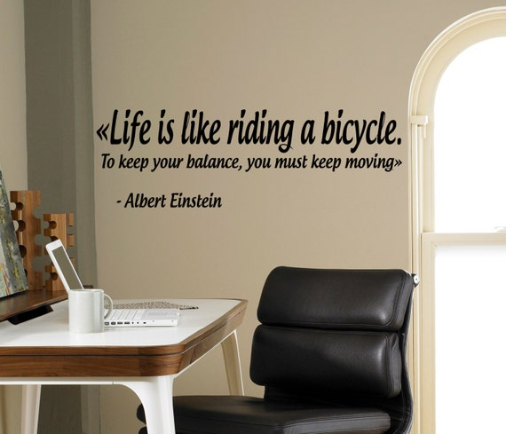 Life is Like Riding a Bicycle by USAMadeProducts